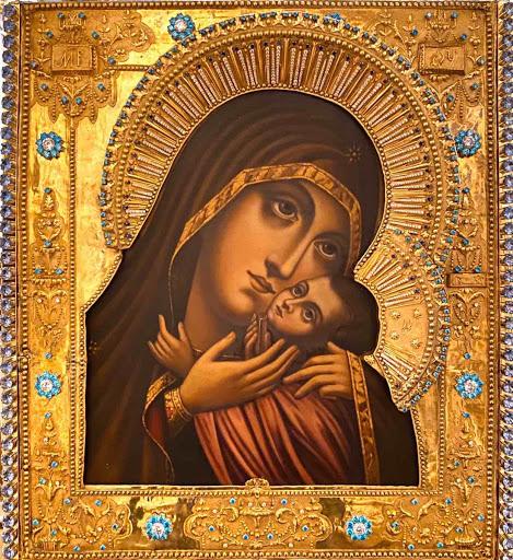 Молебен пред Касперовской иконой Божией Матери