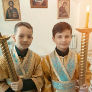 27 апреля в Свято-Касперовском храме освятили помещение малого храма в честь св. Иоанна Воина.